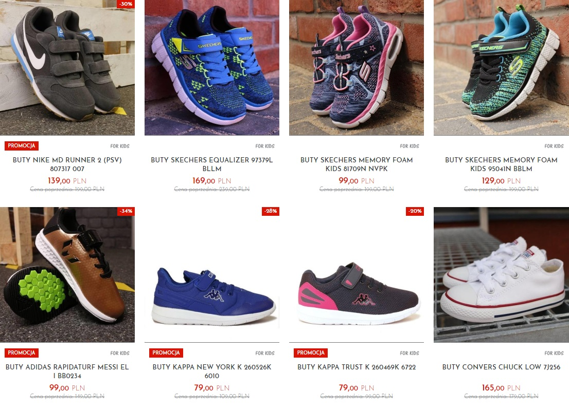 5dffd839e187af dziecięce buty sportowe oferta sklepu sporting