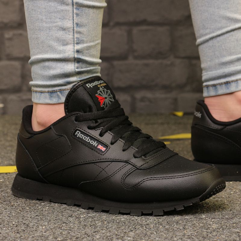 Buty Classic Leather 50149 Black, kolor czarny (Reebok)