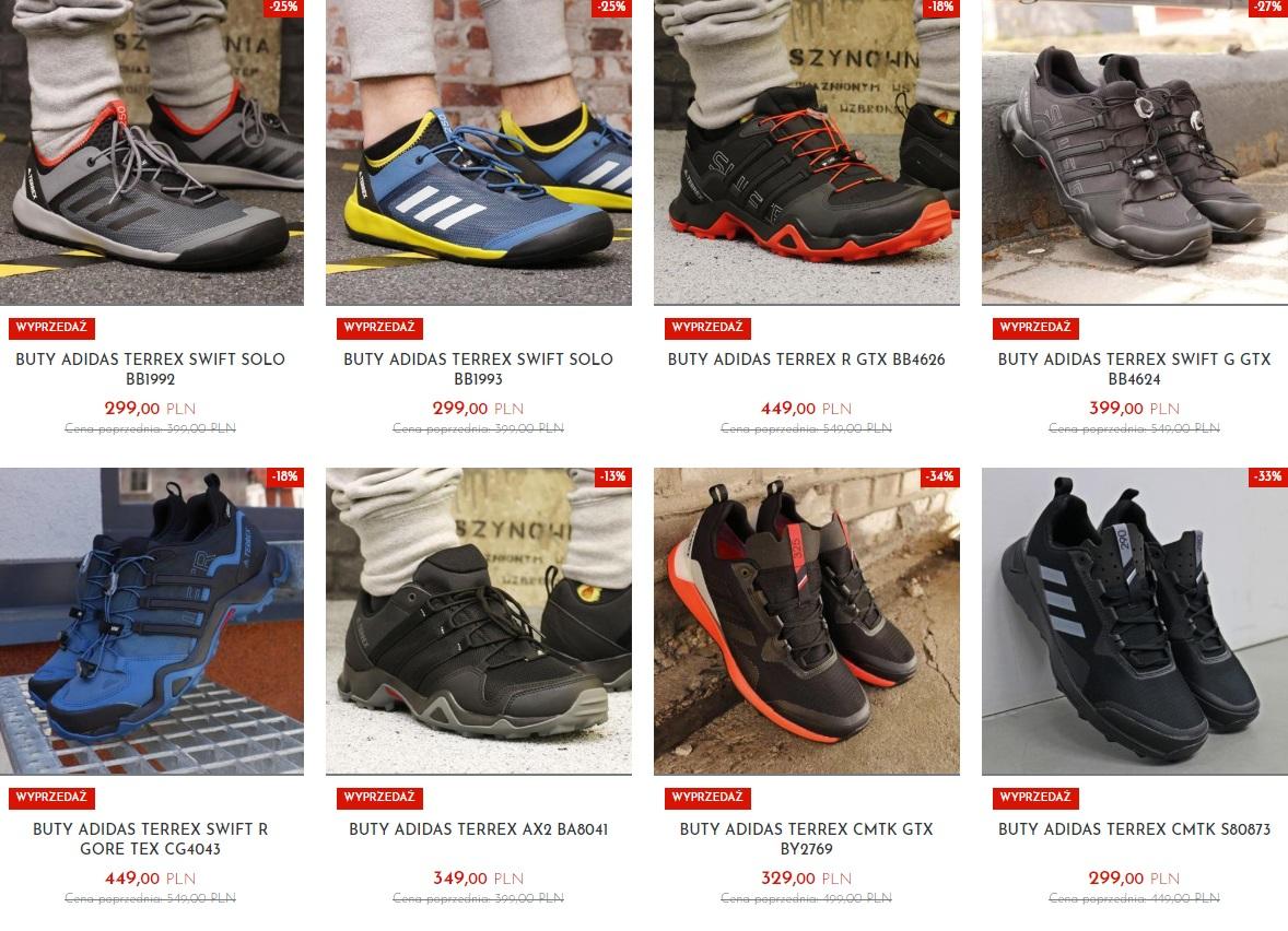 buty adidas terrex oferta sklepu sporting