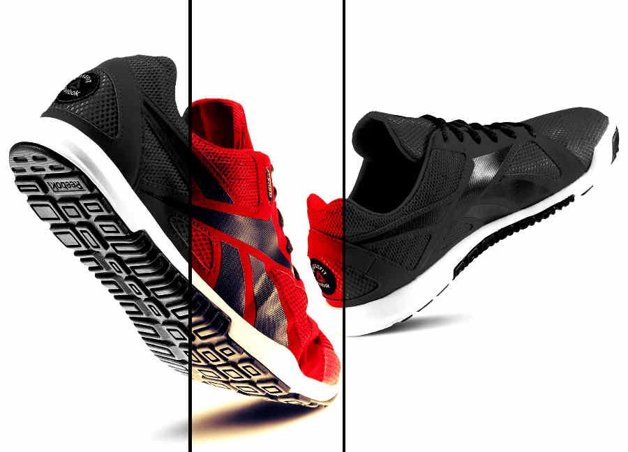 buty reebok czerwone